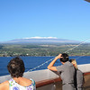 Saling into Hilo, early in the morning, having been at sea for 4 days from San Diego