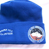 The souvenir you can't buy: the official volunteer cap.....