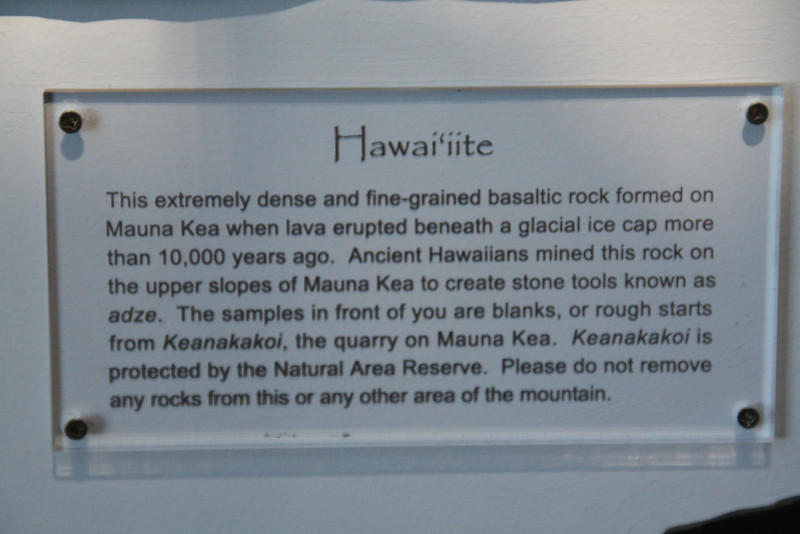 Hawai'iite (sometimes spelt with only 2 i's) is an official category of lava.