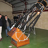 "Gingin observatory visit by the Perth Observatory volunteer group 19th June 2009.<br /> 25"" Obsession Dobsonian"