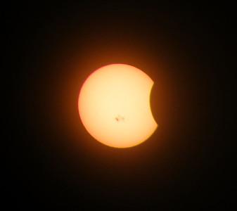 October 23rd, 2014 Solar Eclipse