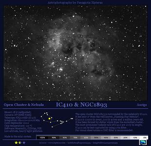 NGC1893, IC410