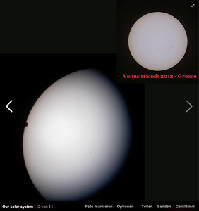 Venus Transits 2004 and 2012