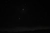 """Moon with Venus and Jupiter, also Taurus """"V"""" and Orion."""