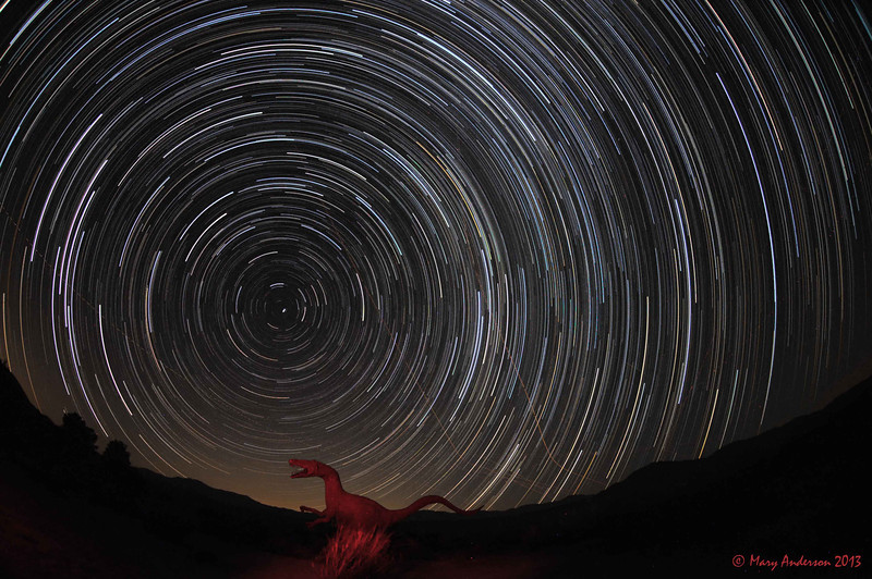 Star Trails from 9:20pm-11:31pm. 2hr11min.