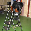 "Gingin observatory visit by the Perth Observatory volunteer group 19th June 2009.<br /> 9.25"" Celestron CPC Altaz."