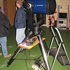 "Gingin observatory visit by the Perth Observatory volunteer group 19th June 2009.<br /> 12"" Meade LX200 on Altaz mount"