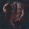 Cygnus Loop aka Veil Nebula Complex - Ha, OIII