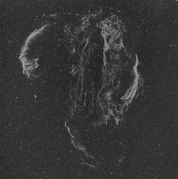 Cygnus Loop aka Veil Nebula Complex - OIII 3nm