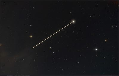 ISS crosses UMa