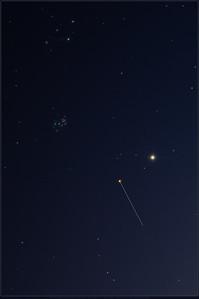 ISS meets Pleiades