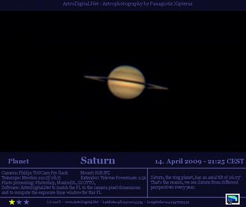 Saturn - 14.4.2009