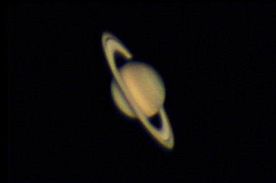 "Saturn 25/06/2012 Meade LX200 12"" f/40, 800 frames captured by Canon 60Da. 800 frames graded, aligned and stacked in Images Plus 4.50B Re-processed with Images Plus 4.50B."