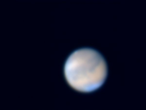 Mars on October 22, 2005<br /> Nexstar 11, Toucam Pro, f/30