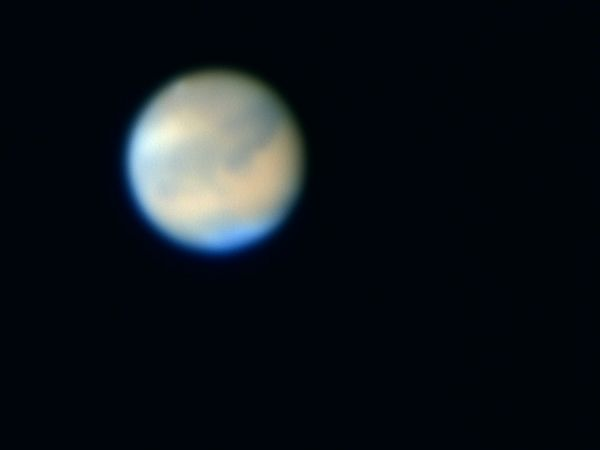 Mars on October 22, 2005<br /> Nexstar 11, Toucam Pro, f/30