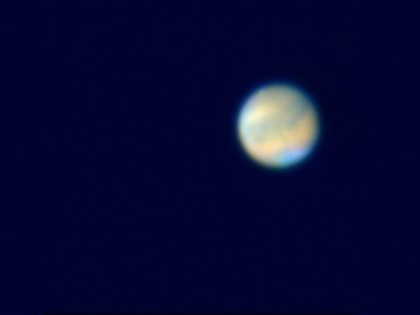 Mars on October 22, 2005<br /> Nexstar 11, Toucam Pro, f/20