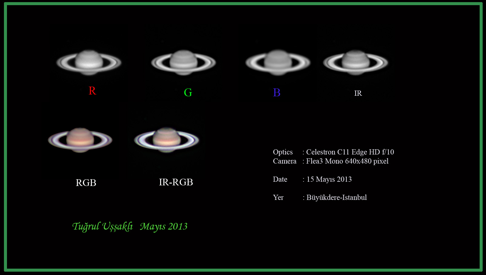 Saturn on 15th May, 2013@ Buyukdere-Istanbul