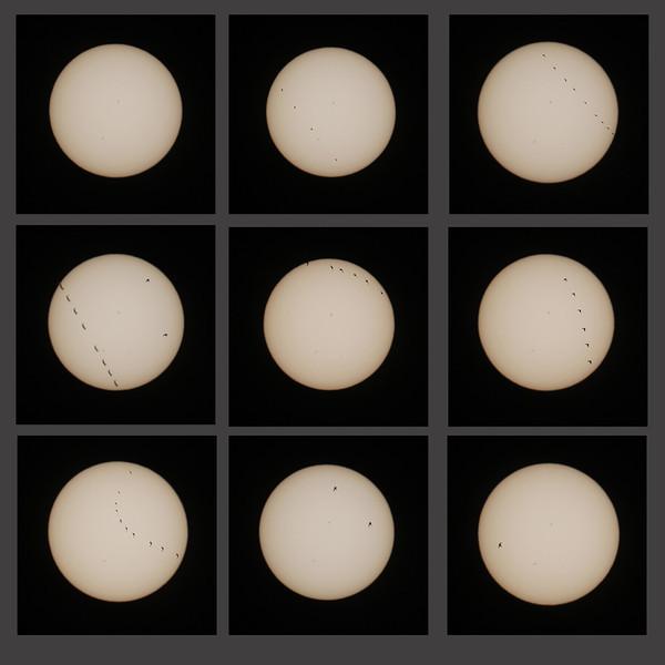 Güneş önünden geçişler 1 Eylül 2013