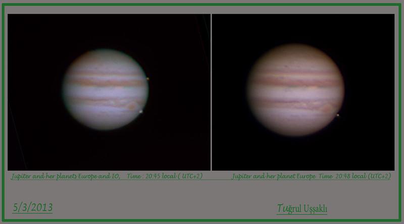 Jupiter 5 March 2013