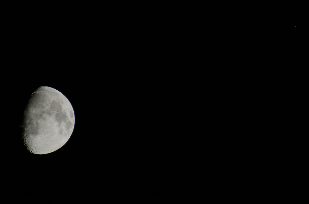 Moon and Saturn 7/7/2014