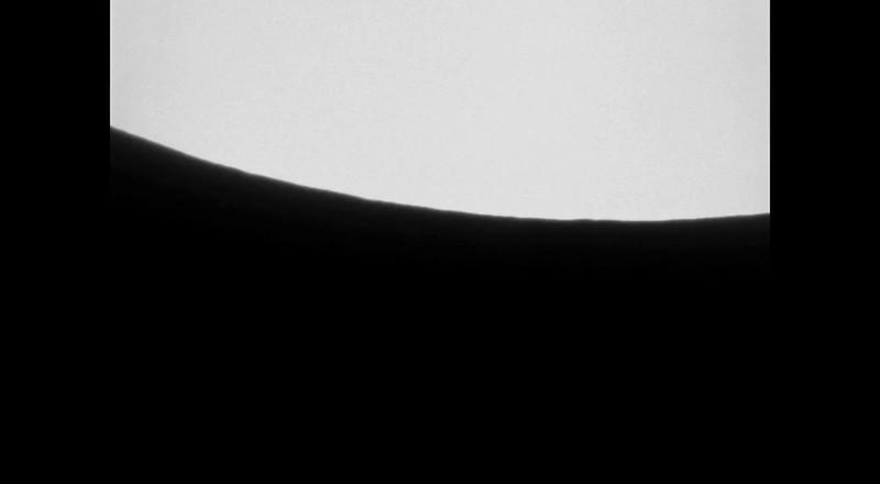 Saturn Occultation  (Exit)