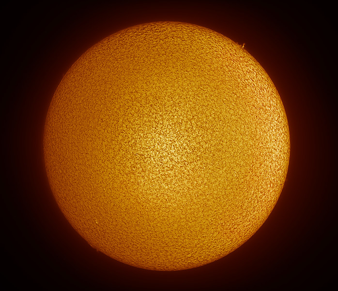 Solar Minimum full disk - Date: 18/03/2020