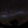 8mm Fisheye Milky Way across the sky