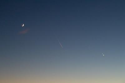 Saturn meets Jupiter