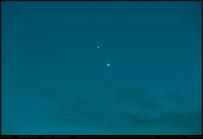 Saturn meets Jupiter 18.12.2020