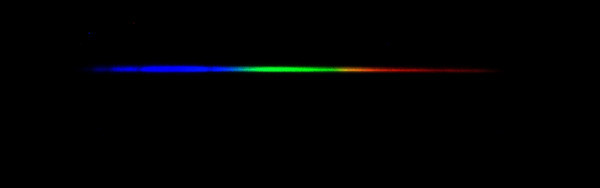 Spectra of Denebola, a type A3V star, Temperature=8,600K