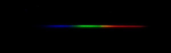 Spectra of Algieba, a type K1 iii star, Temperature=4,200K