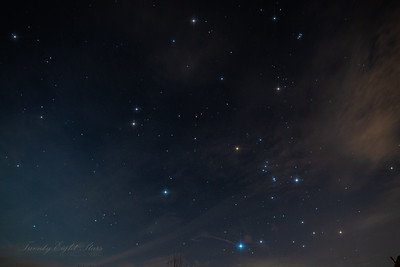 Gemini,Orion, Auriga and Pleiades