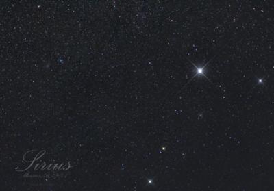 M46, M47, M41, α CMa