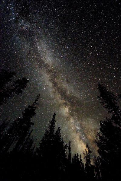 Milky Way from the Uintah Mtns, Utah