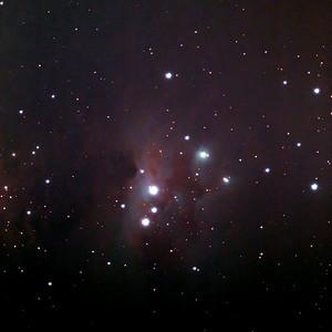NGC1977 Running Man Nebula