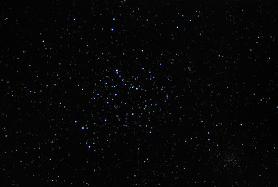 Open Clusters M35 (Center) and NGC 2158 in Gemini