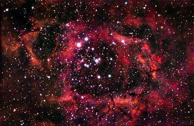 NGC2237 Rosette Nebula n Monoceros