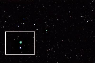 NGC2392 Planetary Nebula in Gemini