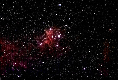 Heart Nebula in Cassiopea