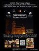Total Lunar Eclipse Event, Jan. 20, 2019, in front of the Oxford Science Building.