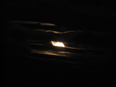 Partial Solar Eclipse 20110104