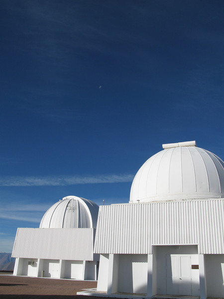 1m and 0.9m with nice clear skies