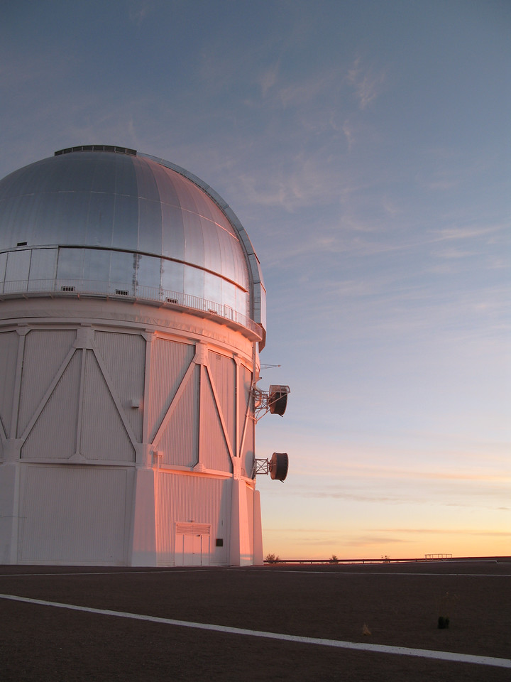 The 4m telescope at CTIO