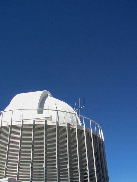 One of the telescopes at the Sutherland Observatory