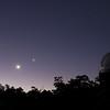 Jupiter, Moon, Venus (L-R) at Perth Observatory 26/03/2012