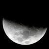Moon near First Quarter 29/2/2012
