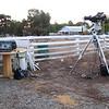 Setup for Venus Transit - 6/6/2012