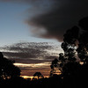 Jupiter in the dawn sky at Bedford Arms Hotel, Brookton for Venus transit 2012 - 6:43 6/6/2012
