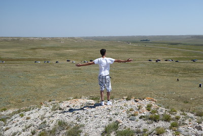 Overlooking The Nebraska Eclipse Site