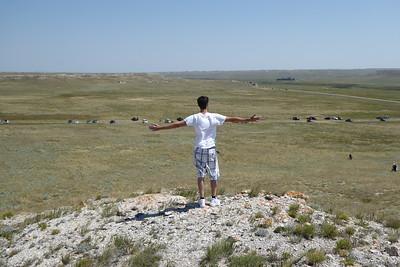 Overlooking The Nebraska Eclipse Site